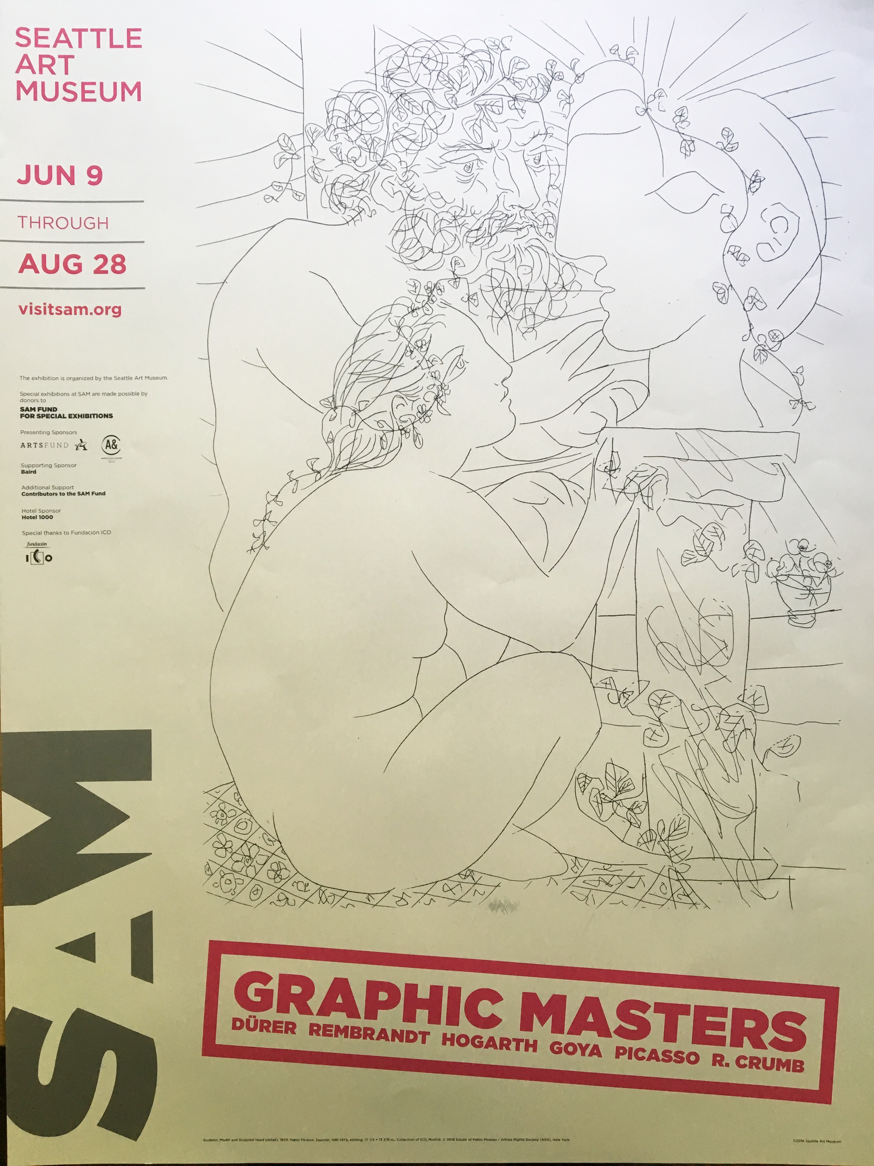 """Seattle Art Museum """"My favorite things tour"""" Of Graphic"""